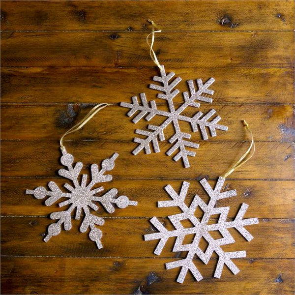 Frosted Snowflakes Ornaments 7D4842