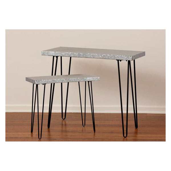 Galvanized Metal Top Tables 8T1331