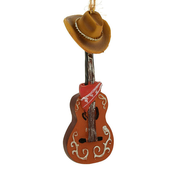 Guitar and Cowboy Hat Ornament 1208900