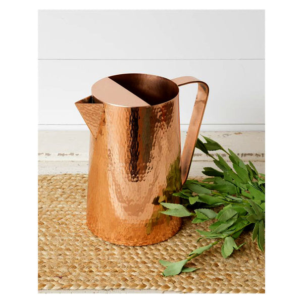 Hammered Copper Pitcher 8T1859