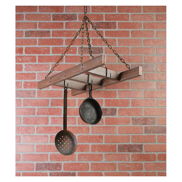 Hanging Ladder Kitchen Pot Rack 12472