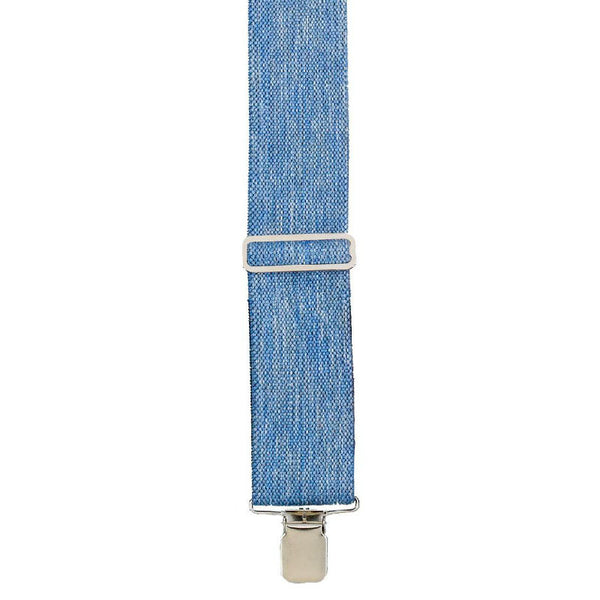 Heavy Duty Blue Denim Suspenders SU-42-DENIM