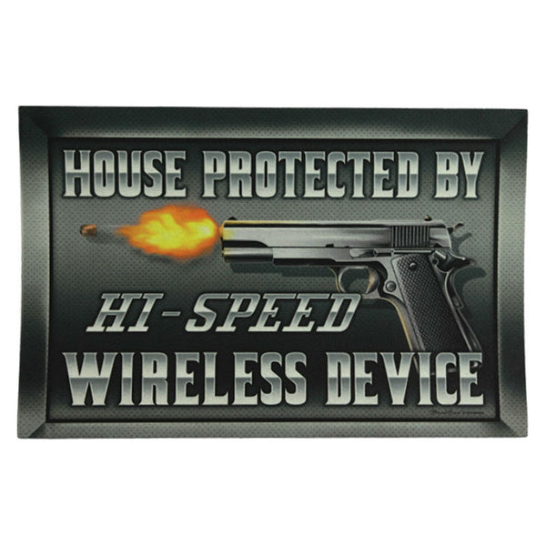 Hi Speed Wireless Door Mat 2510