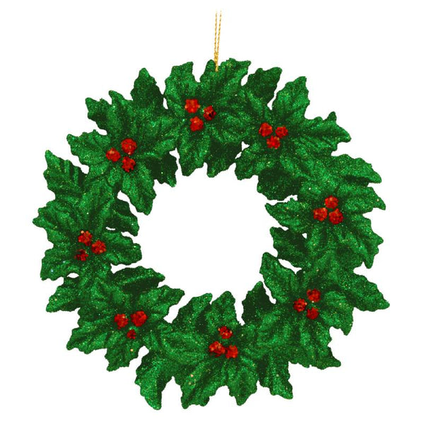 Holly Berries Wreath Christmas Ornament 1145931