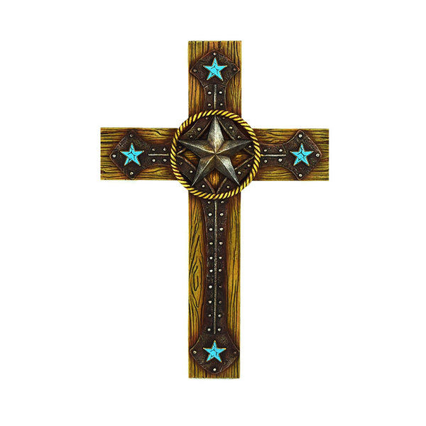 It's All In The Stars Western Wall Cross 2677