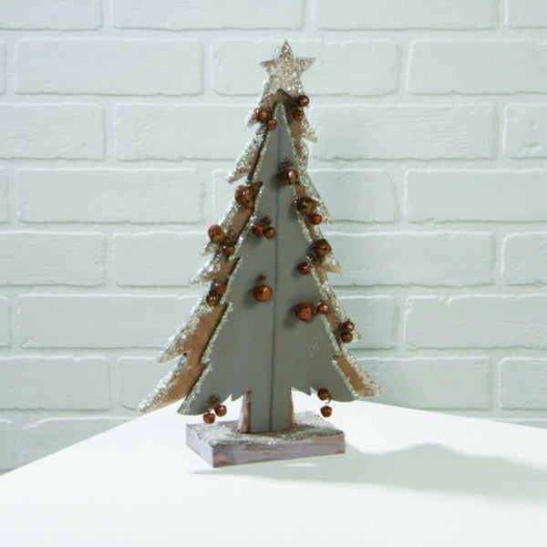 Jingle Bells Mica Christmas Tree X46839