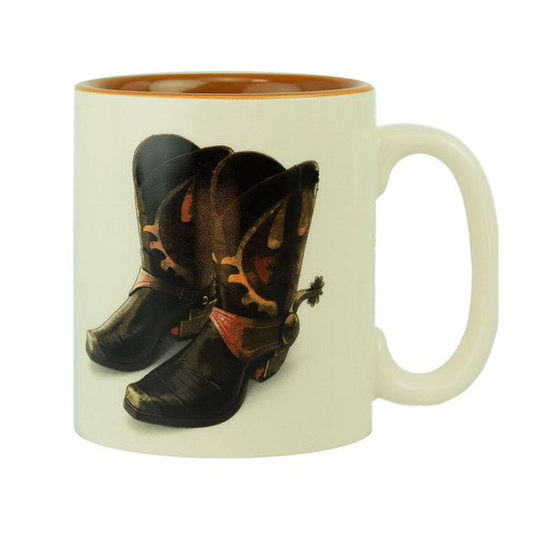 Kick Off Your Boots And Stay Awhile Ceramic Mug 2675