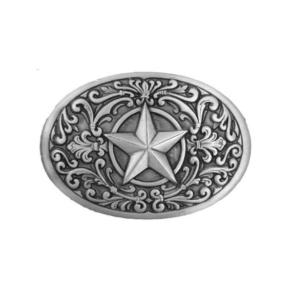 Ladies Mens Western Star Belt Buckle G-3121