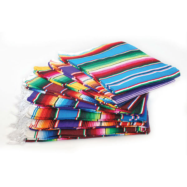 Large Colorful Serape Blanket FAL-05