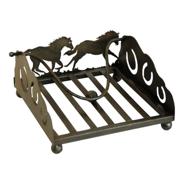 Laser Cut Horse Napkin Holder 1655