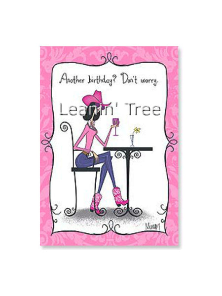 Leanin' Tree A Day Over Whatever Birthday Card 55235