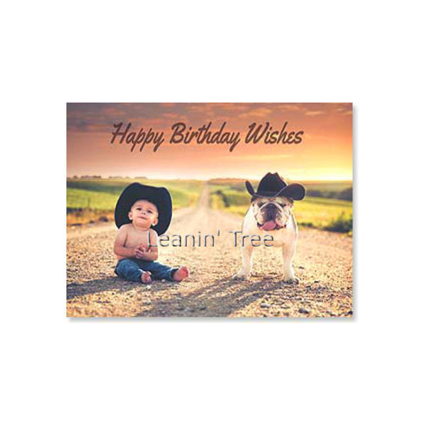 Leanin' Tree Best Year By A Country Mile Birthday Card 20497