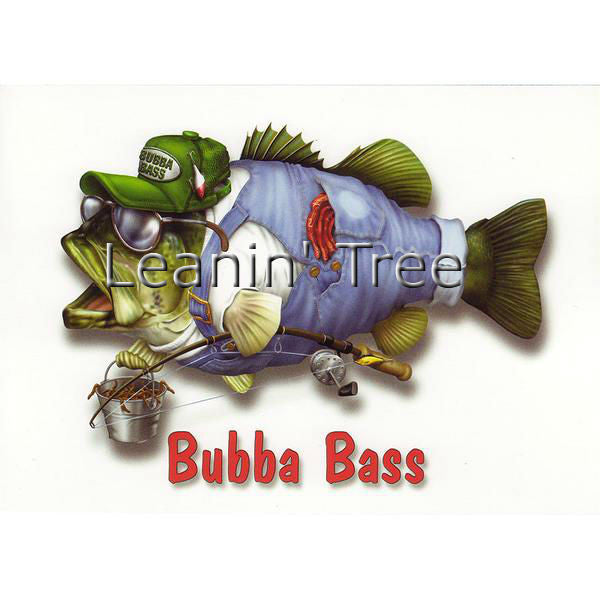 Leanin Tree Bubba Bass Birthday Greeting Card BDG43258