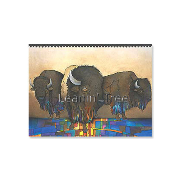 Leanin' Tree Greatly Admired Buffalo Birthday Card 17665