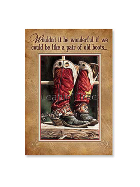 If We Could Be Like A Pair Of Old Boots Birthday Card 2001310