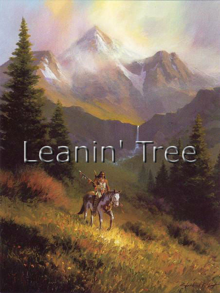 Leanin Tree Indian River Birthday Greeting Card BDG43947