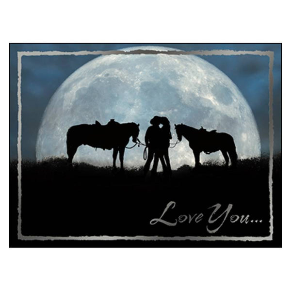Leanin' Tree Love You To The Moon and Back Greeting Card 20966