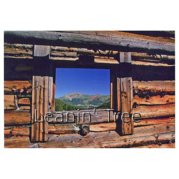 Leanin Tree Mountain View Get Well Greeting Card GWT59929