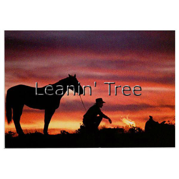Leanin Tree Road Less Traveled Cowboy Birthday Greeting Card BDT12816