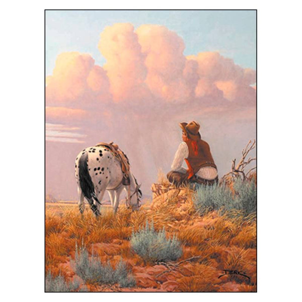 Leanin' Tree Some Days Are So Amazing Cowboy & Horse Birthday Card 14669