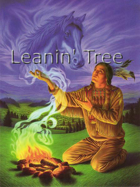 Leanin Tree Spirit of the Horse Birthday Greeting Card BDG45618
