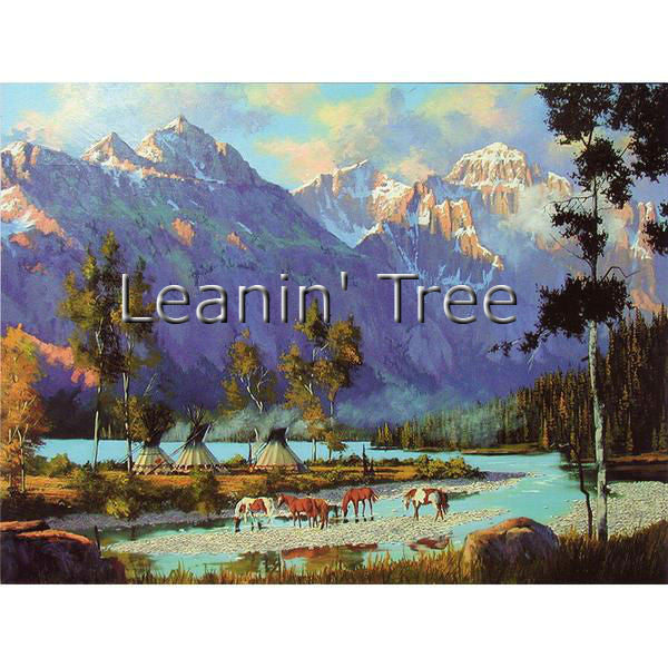 Leanin Tree Summer Lodges Birthday Greeting Card BDG45611