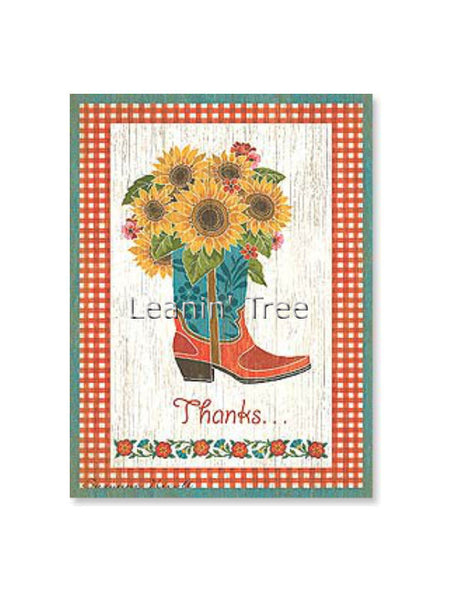 Leanin' Tree Thanks A Bunch Thank You Card 20501