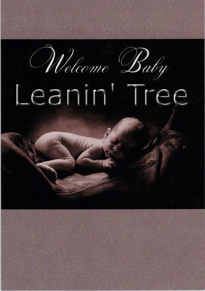 Leanin Tree Western Welcome Baby Greeting Card BCT59475