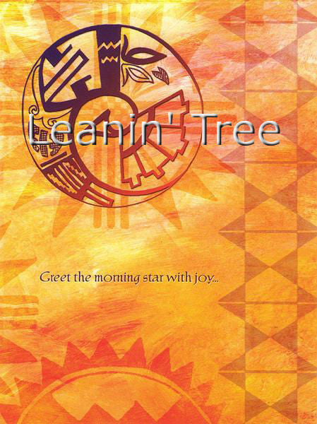 Leanin Tree Windsong Morning Star Birthday Greeting Card BDG45212