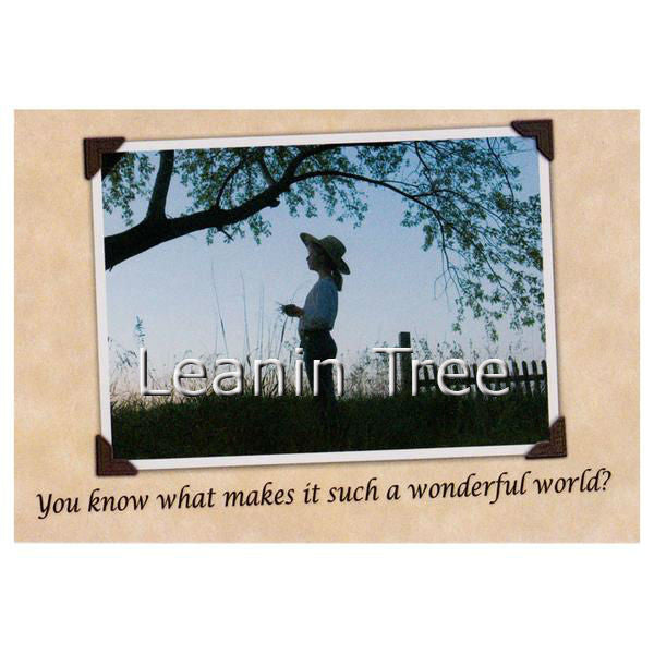 Leanin Tree Wonderful World Friendship Greeting Card FRT59145