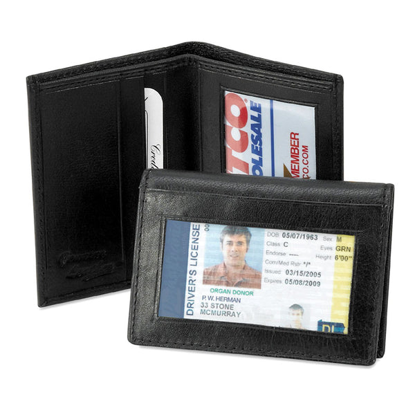 Leather Card and ID Wallet MIN-98