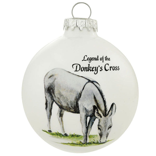Legend of the Donkeys Cross Ornament 1167636