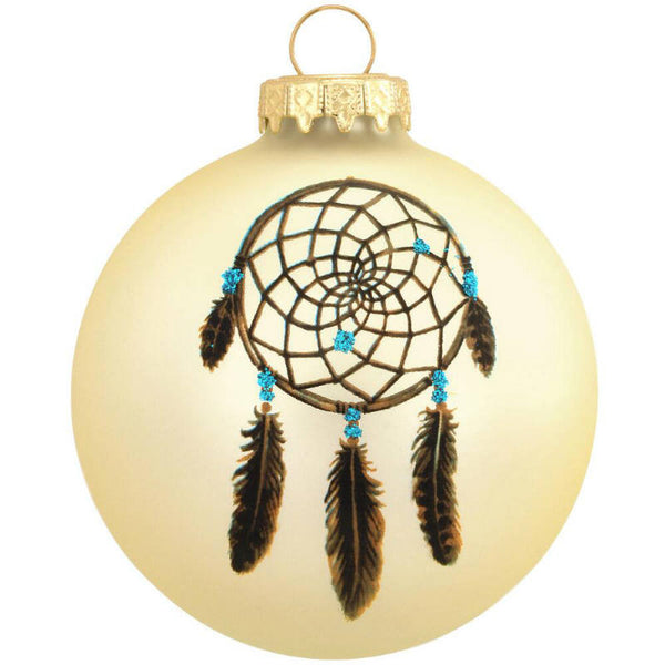 Legend of the Dreamcatcher Glass Ornament 1164339