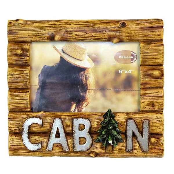 Log Cabin 4x6 Picture Frame DEC-13440