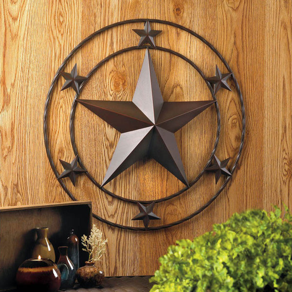 Lone Star Metal Wall Plaque 10017000 Buffalo Trader Online