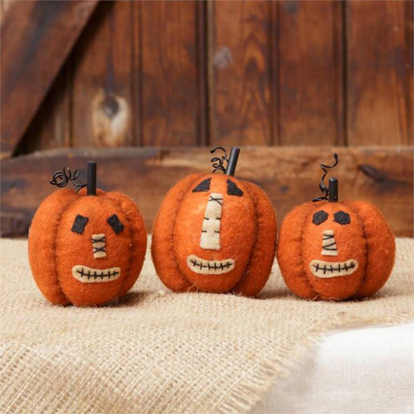 Mini Stuffed Jack-O-Lantern Pumpkins 6D4131