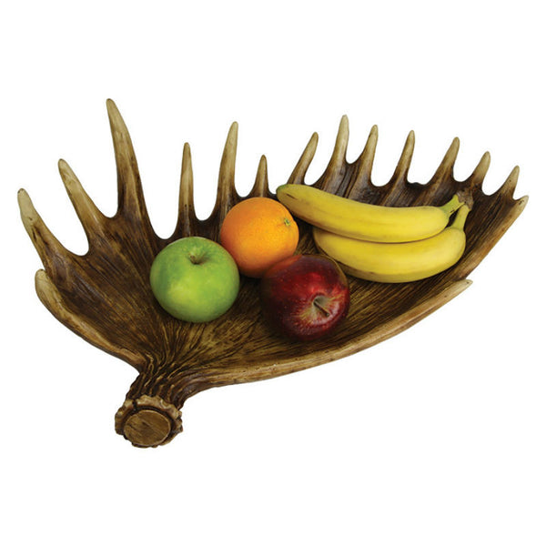 Moose Antler Fruit Bowl 897
