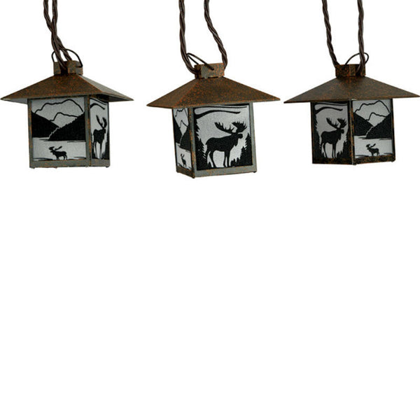 Moose Lantern Light Set 412