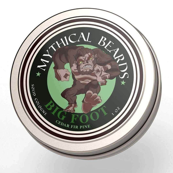 Mythical Beards Mens Solid Cologne Balm Big Foot COLBFOOT