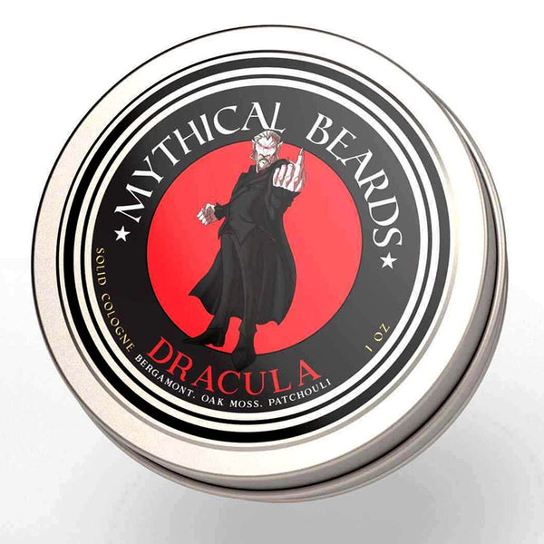 Mythical Beards Mens Solid Cologne Balm Dracula COLDRAC