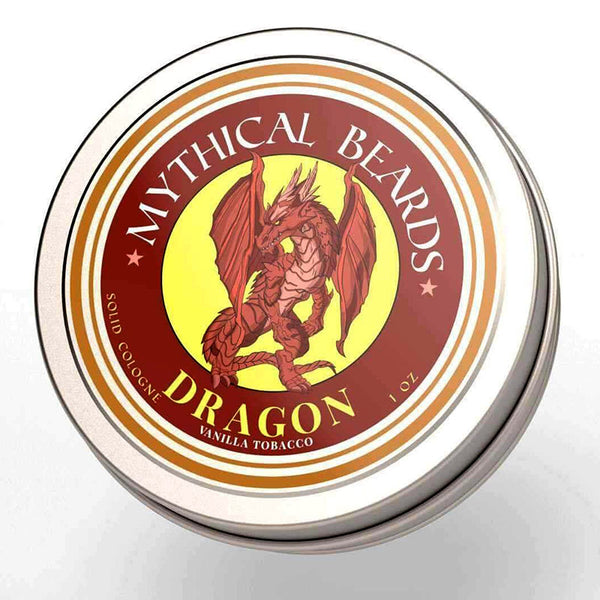 Mythical Beards Mens Solid Cologne Balm Dragon COLDRAG