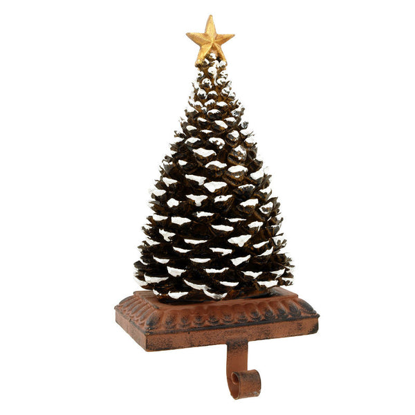 Pine Cone Christmas Tree Stocking Holder 1168162