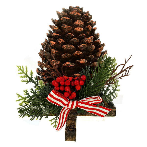 Pine Cone Stocking Holder 1208782