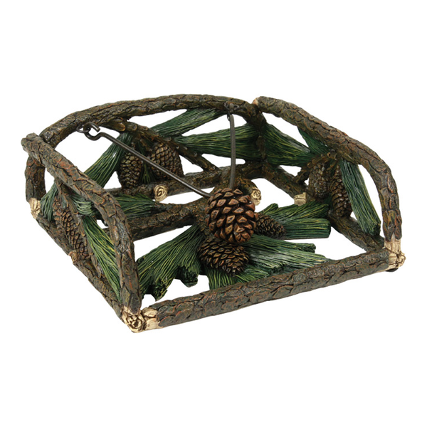 Pine Cones Napkin Holder 1650