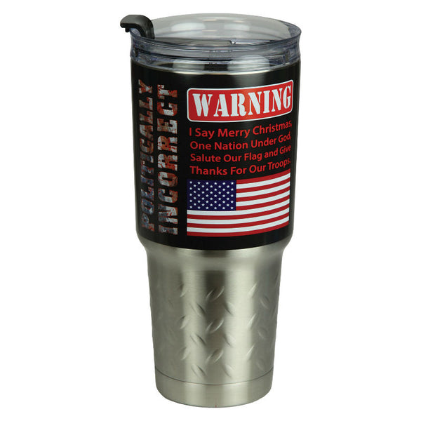 Politically Incorrect 32 Oz Stainless Steel Insulated Mug 2150