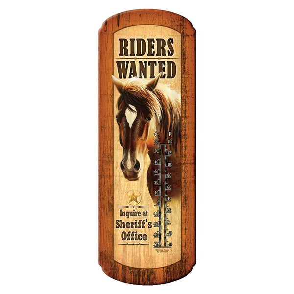 Riders Wanted Horse Thermometer 1348
