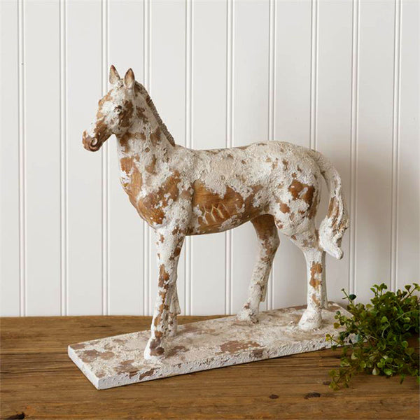 Rustic Horse Figurine 8RS906