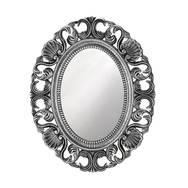Silver Scallop Wall Mirror 10018873