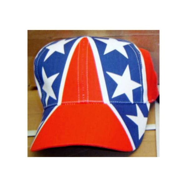 Stars and Bars Battle Flag Adjustable Cap CP100