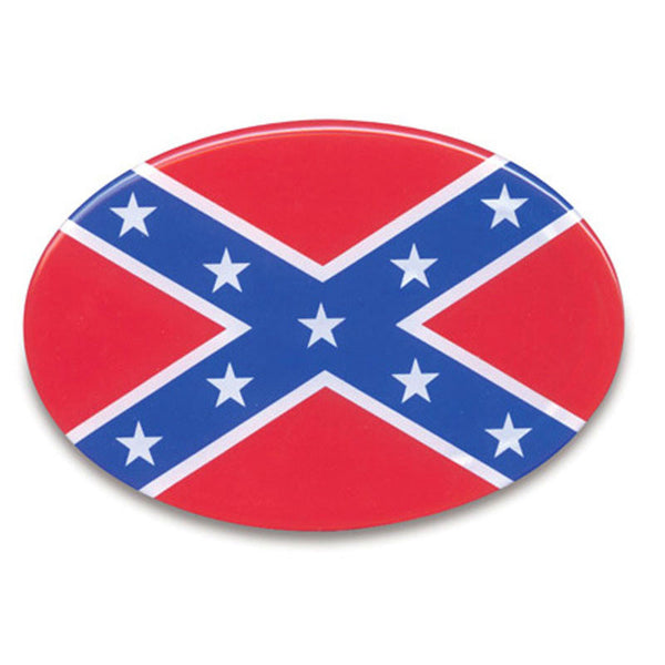 Stars and Bars Flag Trailer Hitch Cover THC-128
